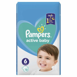 Pampers Active Baby Small Package - nr.6, 10 buc