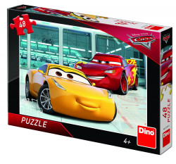 Puzzle - Cars 3 - 48 piese