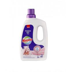 Detergent gel concentrat pentru rufe Sano Maxima Power Gel Baby 60 spalari 3l