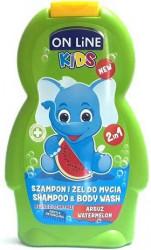 ON LINE KIDS Shampoo/Body Wash Watermelon 250 ml