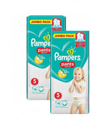 Pachet 2 x Scutece chilotel Pampers Pants Nr.5, 48 buc (96 buc)