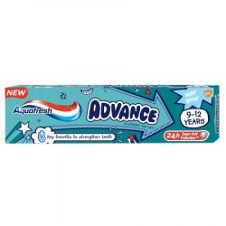 Pasta de dinti Aquafresh Advance, 9-12 ani, 75ml