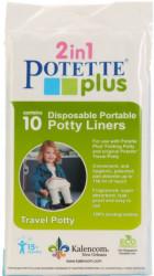 Pungi biodegradabile de unica folosinta pentru olita portabila Potette Plus - 10 buc/set