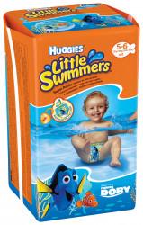 Scutece-chilotel pentru apa Huggies Little Swimmers 5-6, 12-18 kg, 11 buc