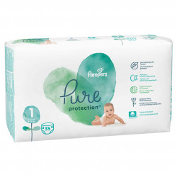 Scutece Pampers Pure, Nr.1, 2-5kg, Carry Pack, 35 buc