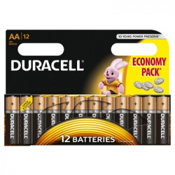Set 12 baterii Duracell, Basic AA