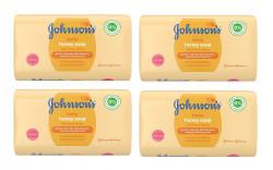Set 4 x sapun miere Johnson's Baby, 100g