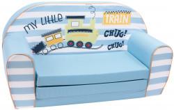 Canapea extensibila din burete My Little Train