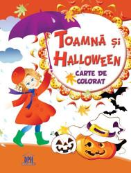 Cartea mea de colorat - toamna si halloween