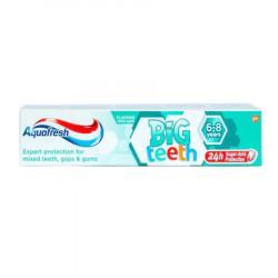 Pasta de dinti Aquafresh Big Teeth, 6-8 ani, 50ml