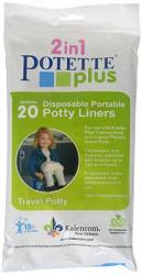 Pungi biodegradabile de unica folosinta pentru olita portabila Potette Plus - 20 buc/set