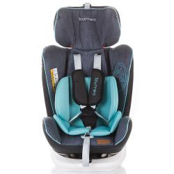 Scaun auto Chipolino Tourneo 0-36 kg sky blue cu sistem Isofix