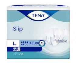 Scutece adulti Tena Slip Plus, Large, 30 buc