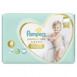 Scutece-chilotel Pampers Premium Care Pants 4 Value Pack 38 buc