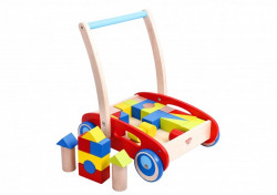 Antemergator lemn+cuburi,Baby walker
