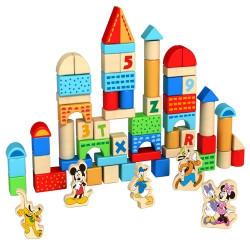 Cuburi si forme de construit cu personajele Disney