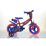 DINO BIKES Bicicleta copii 12'' Spiderman