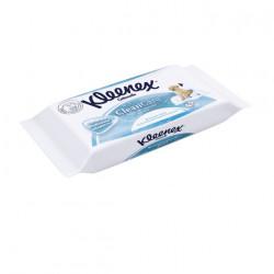 Hartie igienica umeda Kleenex cu rezerva Moist Fresh Refill, 42 buc