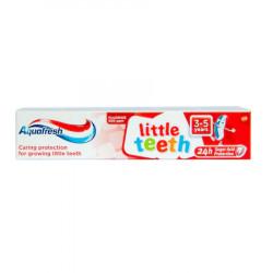Pasta de dinti Aquafresh Little Teeth, 3-5 ani, 50 ml