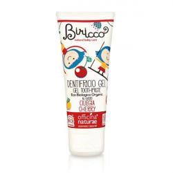 Pasta de dinti copii gel bio Cirese (fara fluor) 75 ml