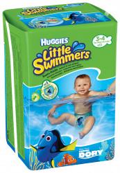 Scutece-chilotel pentru apa Huggies Little Swimmers 3-4, 7-15 kg, 12 buc