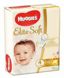 Scutece Huggies Elite Soft Nr.4, 8-14 kg, 19 buc