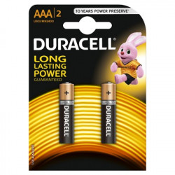 Baterie Duracell Basic AAA LR03 2buc