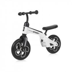 Bicicleta de tranzitie Spider, fara pedale, White, Lorelli