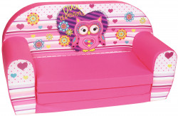 Canapea extensibila din burete Owl Dreams
