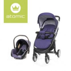 Carucior 4Baby ATOMIC Travel System Purple