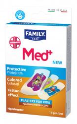 FAMILY Med Plasturi pentru copii tatuaj 16 bucati