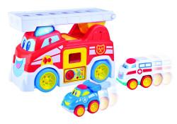 Little Learner Masinuta de pompieri - Vroom Vroom