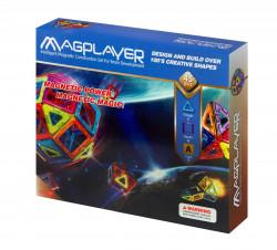 MAGPLAYER Joc de constructie magnetic - 45 piese
