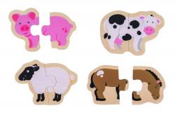 Puzzle - animale de la ferma - BigJigs