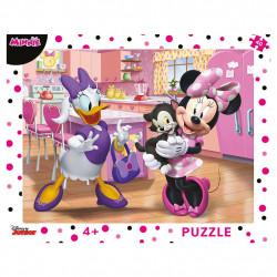 Puzzle cu rama - Minnie - 40 piese