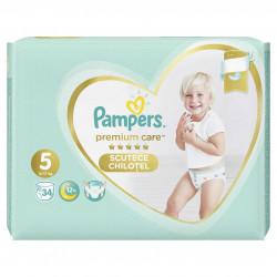 Scutece-chilotel Pampers Premium Care Pants 5 Value Pack 34 buc
