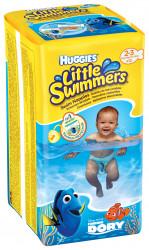 Scutece-chilotel pentru apa Huggies Little Swimmers 2-3, 3-8 kg, 12 buc