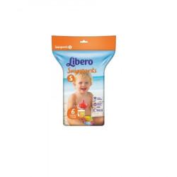Scutece inot Libero Swimpants, Small, 7-12kg, 6 buc