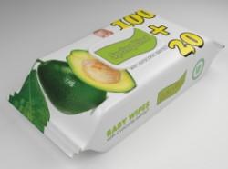 Servetele Umede Spring Line Baby Extract de cocos 120 buc Cu Capac
