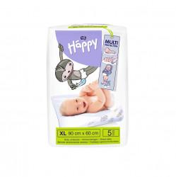 Cearceaf absorbant Happy, 90x60 cm, 5 buc