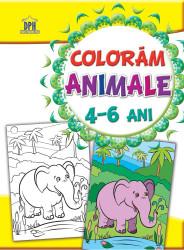 Coloram animale 4-6 ani