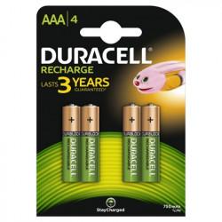 Duracell acumulatori AAAK4 750mAh