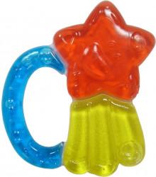 Jucarie dentitie 3 culori forma stea Primii Pasi