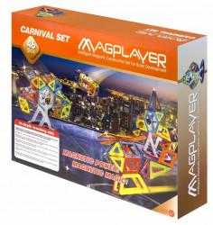MAGPLAYER Joc de constructie magnetic - 46 piese