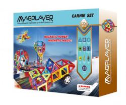 MAGPLAYER Joc de constructie magnetic - 72 piese