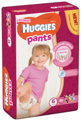 Scutece-chilotel Huggies Jumbo Pack, Nr.6, Fete, 15-25 kg, 30 buc