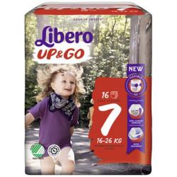 Scutece-chilotel Libero UP&GO, Nr.7, XL Plus, 16-26kg, 16 buc