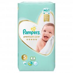 Scutece Pampers Premium Care 5 Jumbo Pack 58 buc