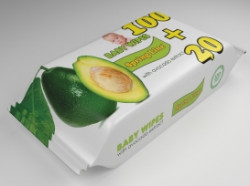Servetele Umede Spring Line Baby Extract de cocos 120 buc