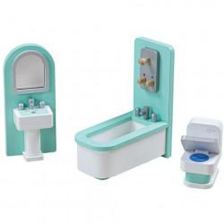 Tidlo Mobilier baie pentru casuta papusii